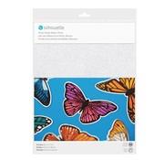 Silhouette Sticker Paper - Glitter White