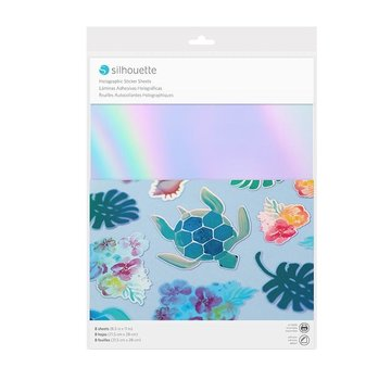 Silhouette Sticker Paper - Holographic