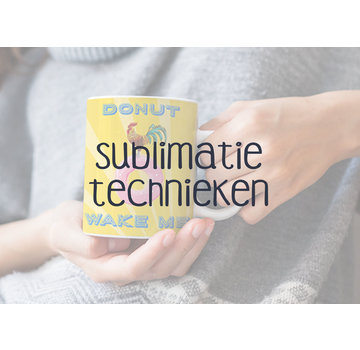 Workshop: Sublimatietechnieken