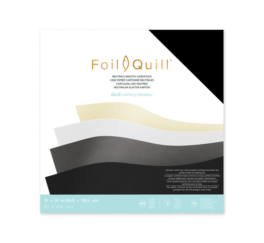 Foil Quill Cardstock 12 x 12