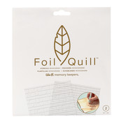 We R Memorykeepers Foil Quill Freestyle- Stencils:  Monogram