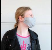 Mondmasker grijs (incl. twee filters)