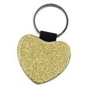 Sleutelhanger Glitter (Sublimatie) : Goud