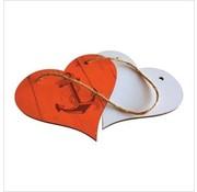Hart bord (met touw)