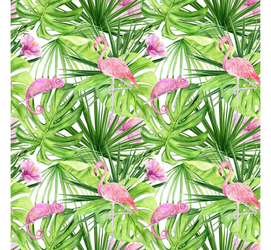 Chameleon Flamingo Leafs
