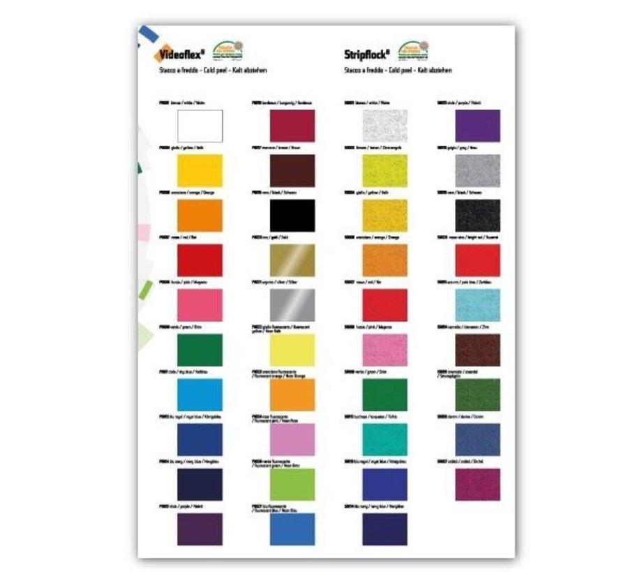 Kleurenkaart flex en flock
