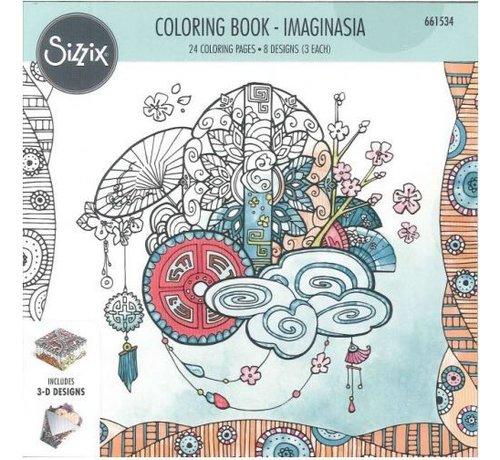 Sizzix Coloring book by Katelyn Lizardi, Imaginasia