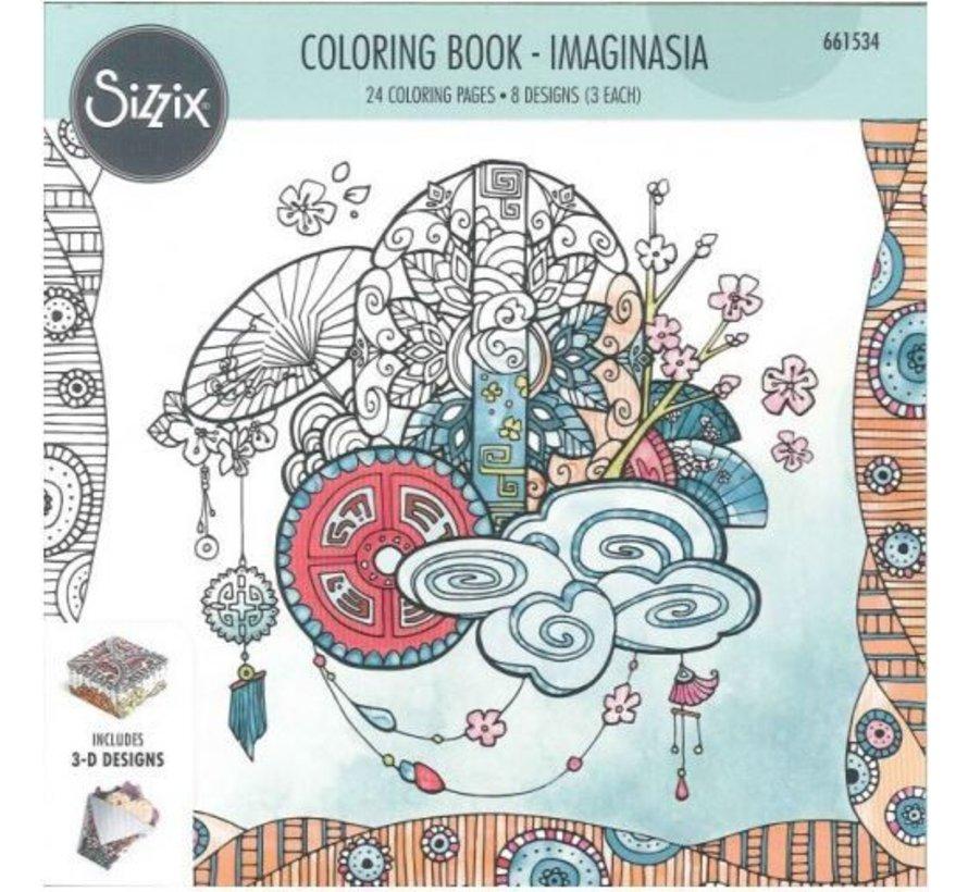 Coloring book by Katelyn Lizardi, Imaginasia