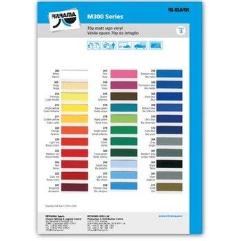 Ritrama Kleurenkaart Vinyl mat