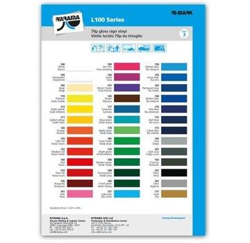 Ritrama Kleurenkaart Vinyl glans