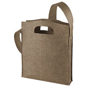 Luxe Vilt tas (brown)