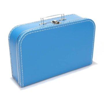 Koffer -35 cm- aquablauw