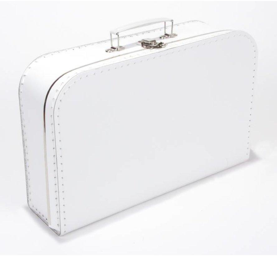 Koffer - 35 cm - wit