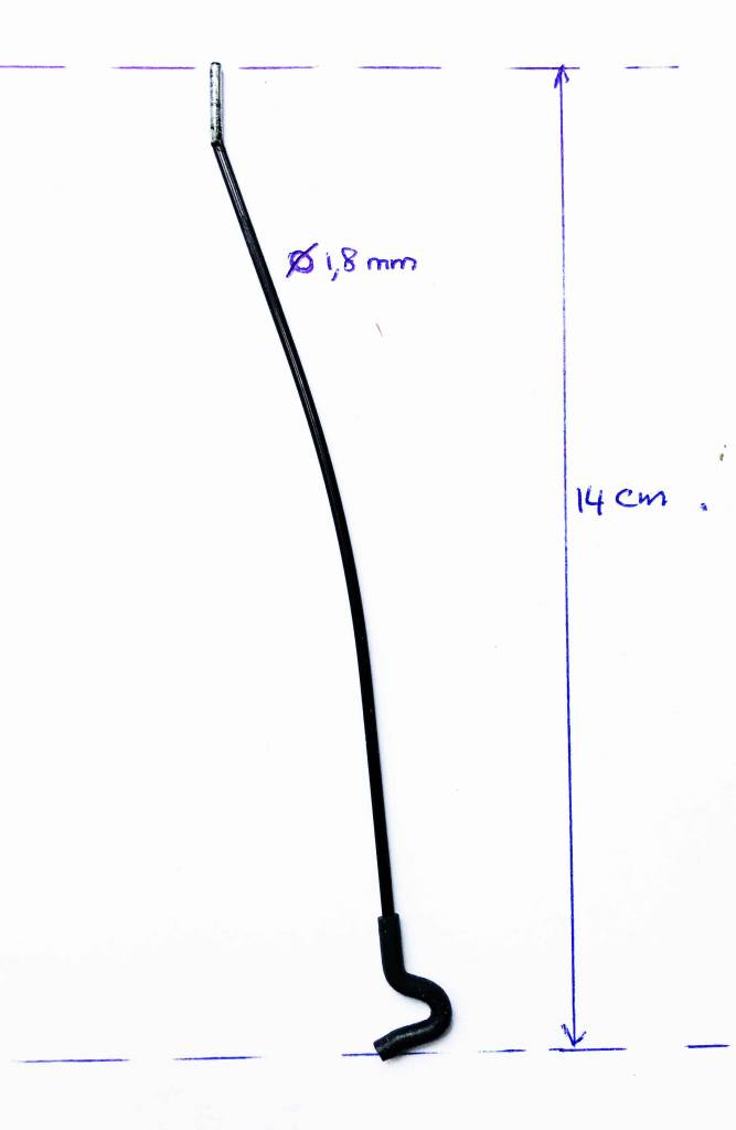 leg black for LDM94 tripod clamp