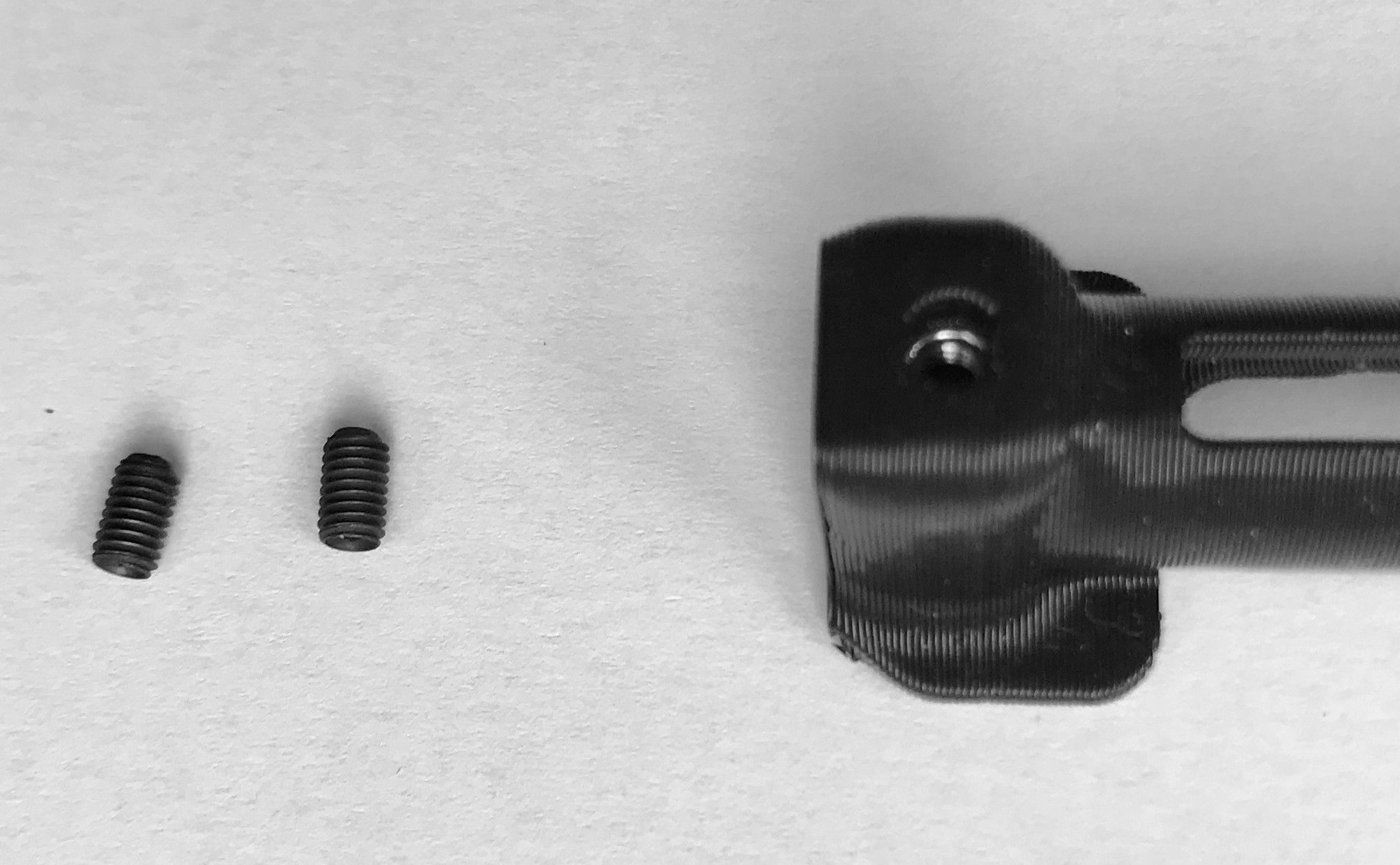 mini screws for transmitter attachment