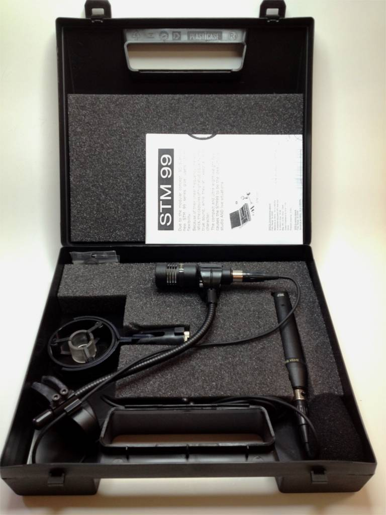 STM99 HighEnd condenser mic for Studio and Live applications