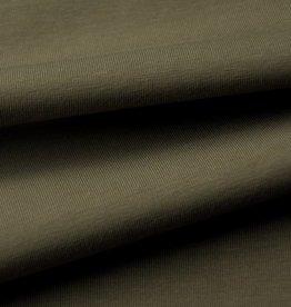 stof Single jersey stretch - 30/1 heavy - burnt olive