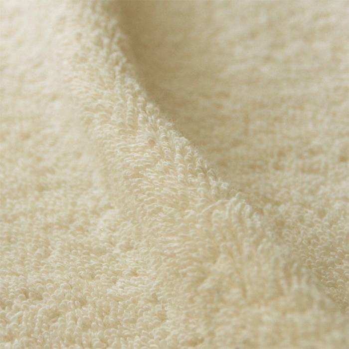Badstof geweven - natural white