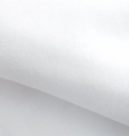 stof Single jersey 30/1 optical white