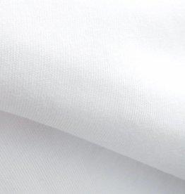 stof Single jersey 30/1 optisch wit