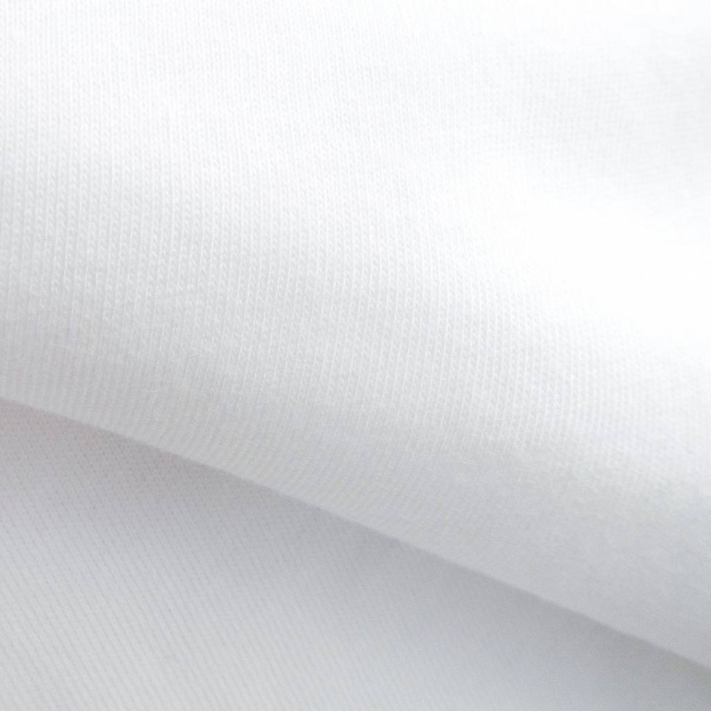 Single jersey 30/1 optisch wit