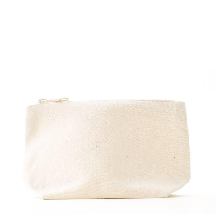 Make-up bag S - natural white -  no label