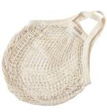 Nettas met korte hengsels - natural white