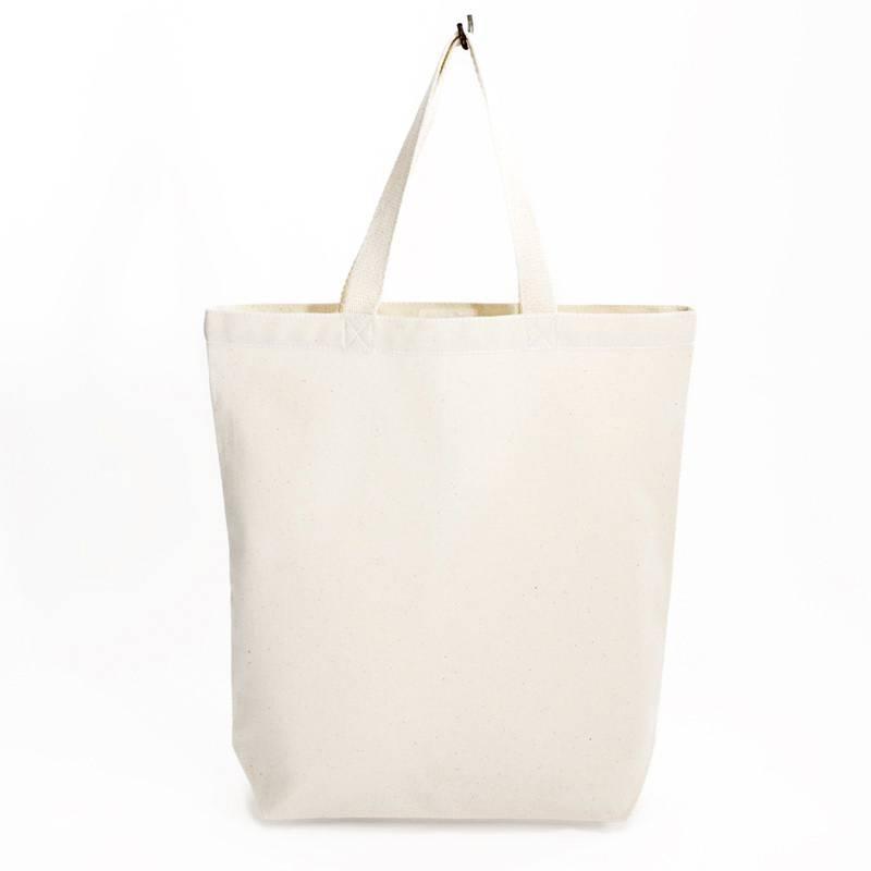 City bag mit weißen Kontrastnähten 38x41cm