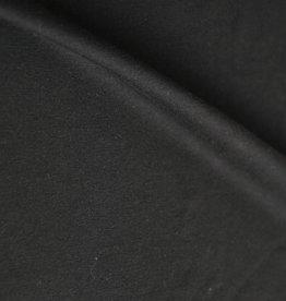 stof Single jersey 40/1 zwart
