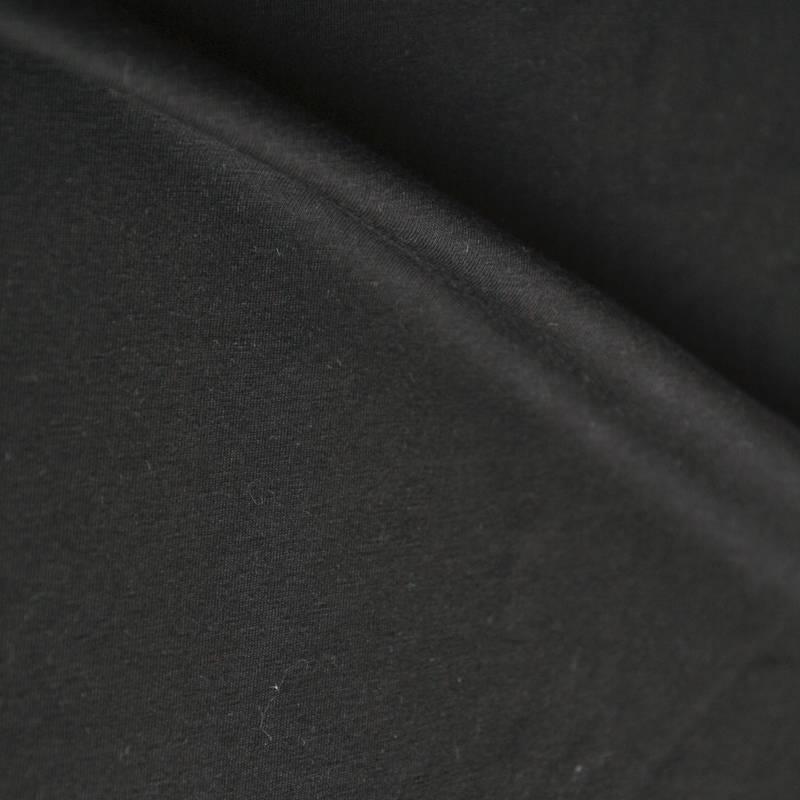 Single jersey 40/1 zwart