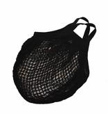 Nettas met korte hengsels - zwart - zonder label