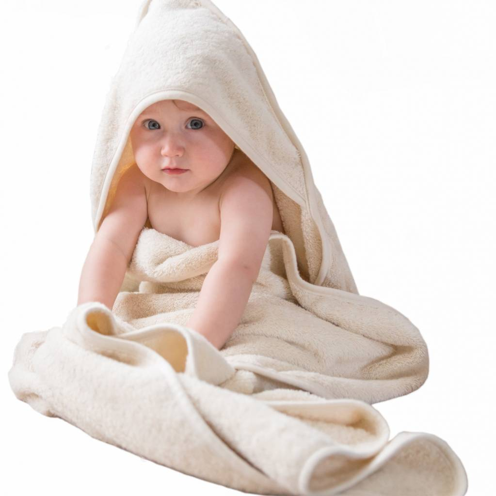 Baby towel with hood 100x100cm