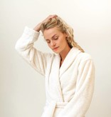 Bathrobe - natural white