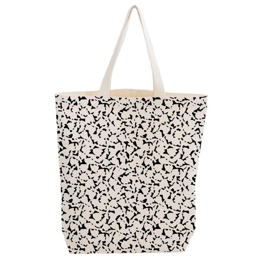 City bag met binnenzakje 'foliage'