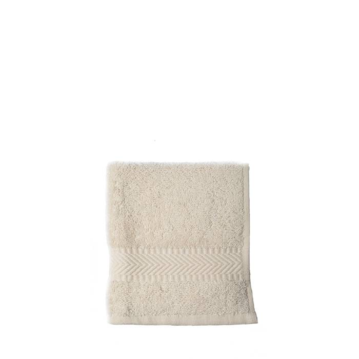 Face cloth  30 x 30 cm - natural white (10 pieces)