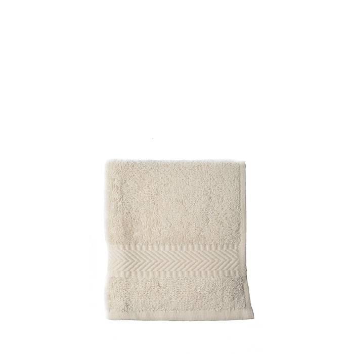 Gezichtsdoekje 30 x 30 cm - natural white (10 stuks)