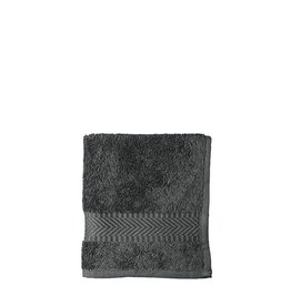 Face cloth 30 x 30 cm - anthracite