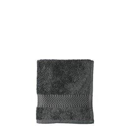 Gezichtsdoekje 30 x 30 cm - antraciet