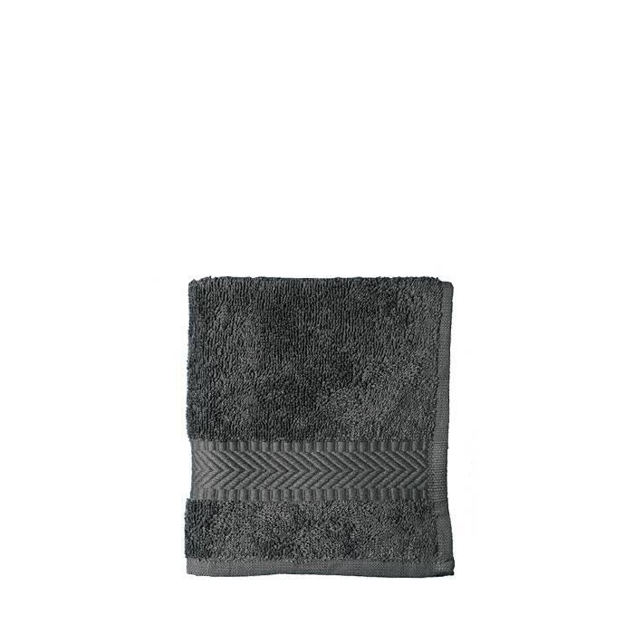 Gesichtstuch 30  x 30 cm - antraziet  (10 Stück)