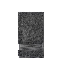 Guest towel 30 x 50 cm - anthracite