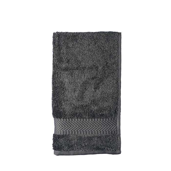 Guest towel 30 x 50 cm - anthracite (10 pieces)
