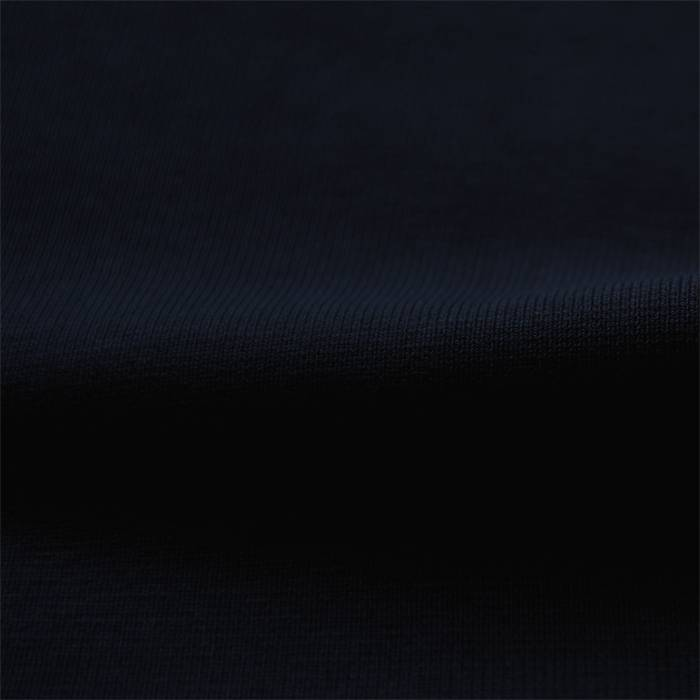 Wristfabric 1x1 dark blue with elasthan
