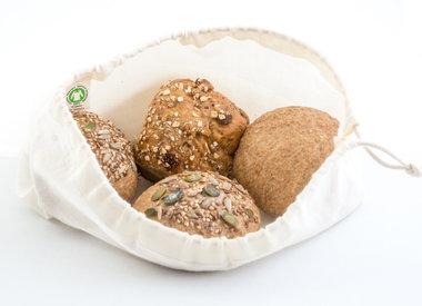 Brood- en groentezakken