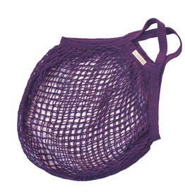 Granny's string bag purple