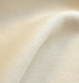 Sweater fabric cream