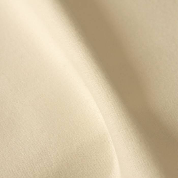 Flanel  gebleekt wit - 150cm