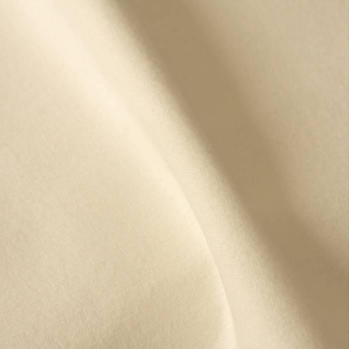 Flanel  - gebleekt wit