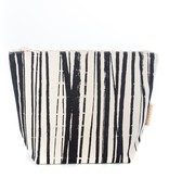 Cosmetic  bag - medium 'wrapping stripes' 24x18x9cm