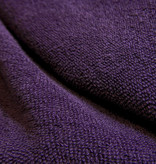 Terry knitted - deep purple