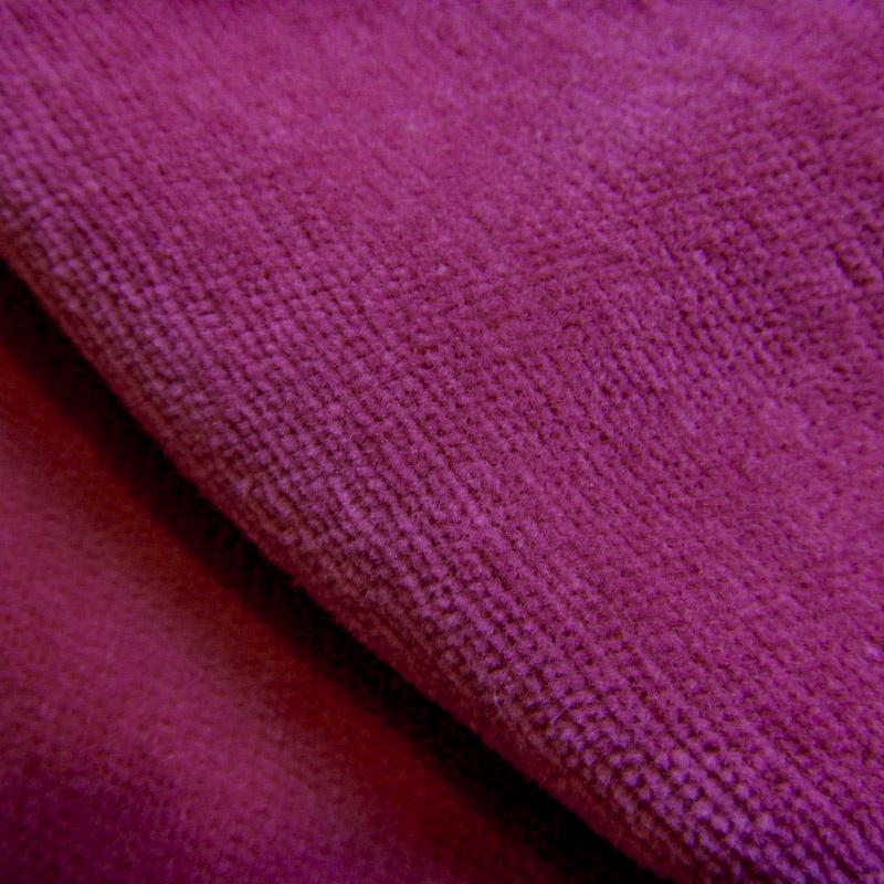Nicky velours - baton rouge (helder roze)
